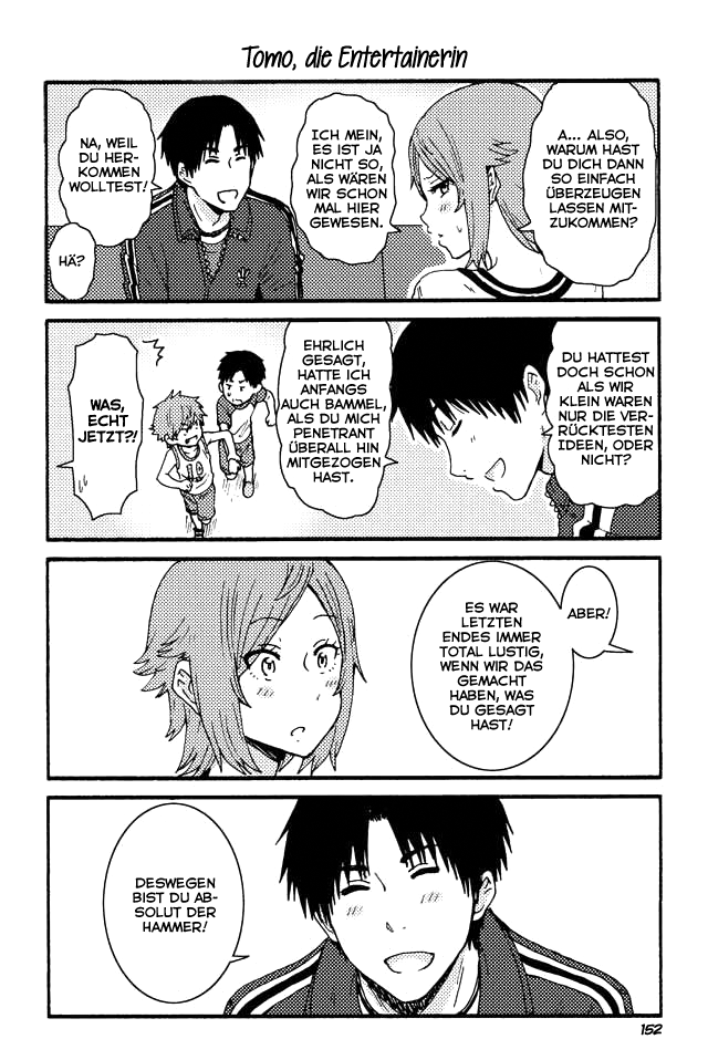 Tomo-chan wa onna no ko - 152 - Tomo, die Entertainerin
