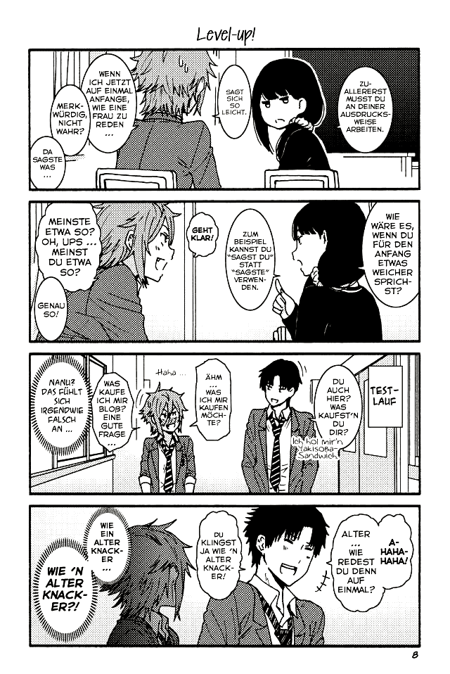 Tomo-chan wa onna no ko - 008 - Level-up!